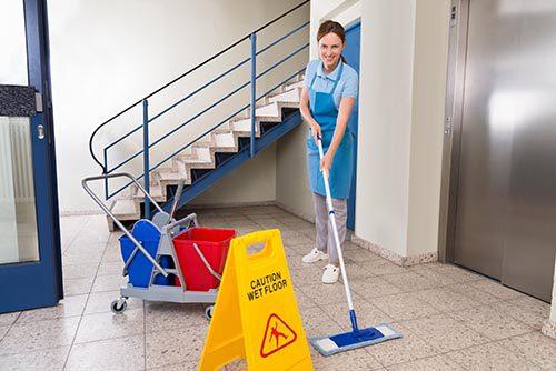 limpieza de edificios y prevención