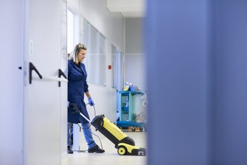 prevención en limpieza