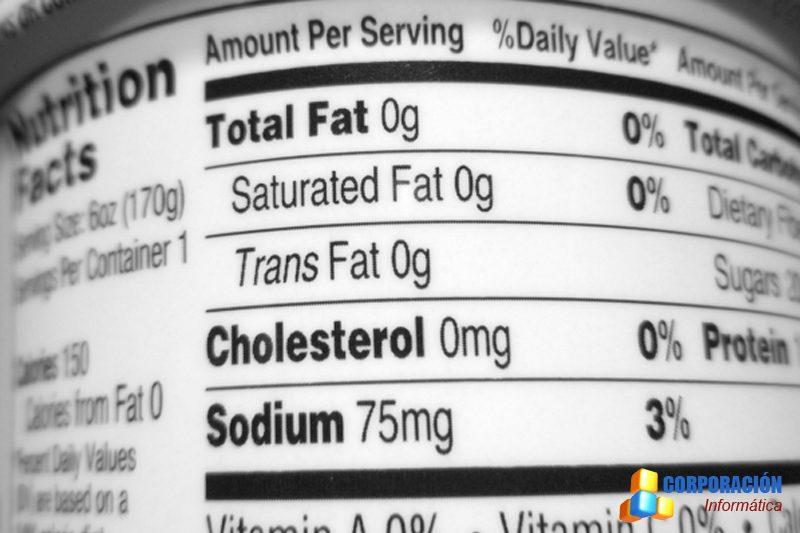Curso de etiquetado de alimentos