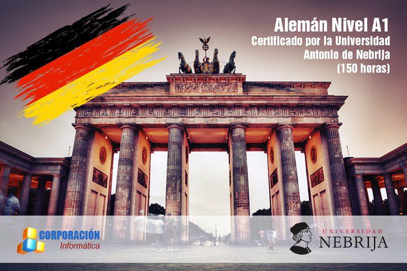 Curso Alemán Nivel A1 acreditado por la Universidad Antonio de Nebrija