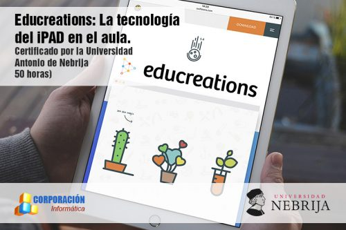 Educreations: la tecnología del Ipad en el aula - acreditado por Universidad Nebrija