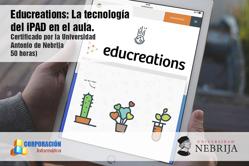 Educreations: la tecnología del Ipad en el aula - acreditado por Universidad Nebrija