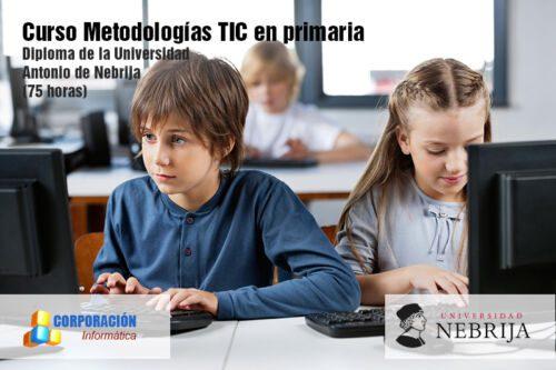 Curso Metodologías TIC en primaria