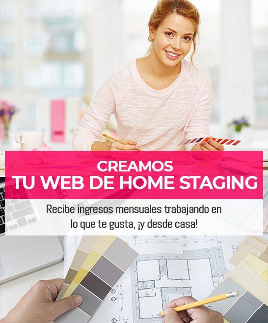 Creamos tu web para Home Staging