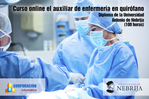 Curso online el auxiliar de enfermería en quirófano
