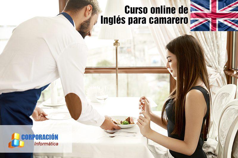 Curso online de inglés para camarero