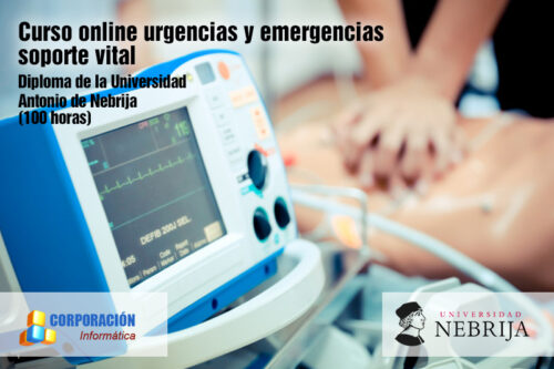 Curso online urgencias y emergencias soporte vital