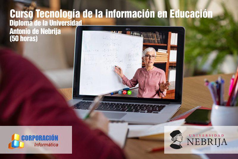 Curso tecnología de la información en educación