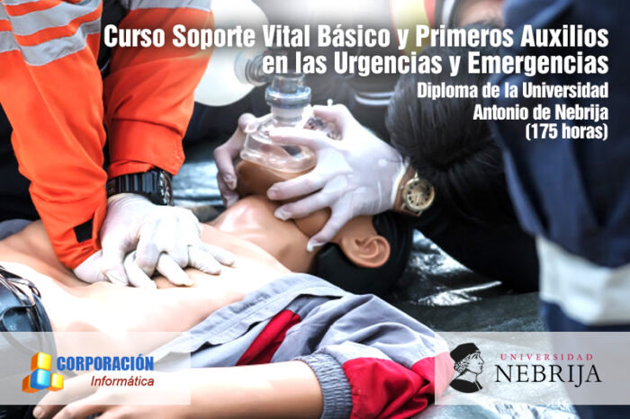 soporte vital básico y primeros auxilios en las urgencias y emergencias