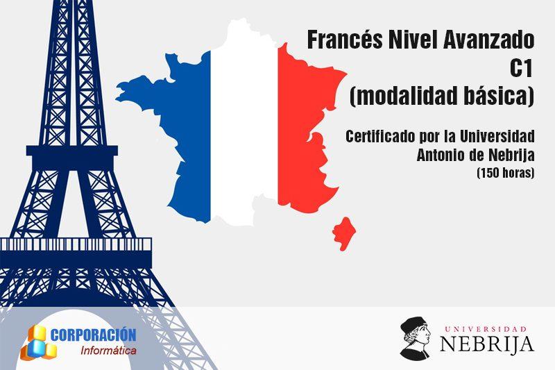 Curso Frances Nivel Avanzado C1 Acreditado Universidad Nebrija