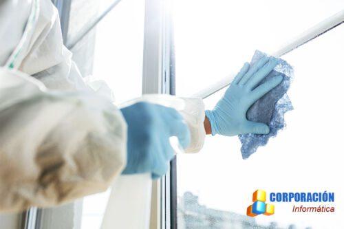Limpieza profesional en edificios + PRL en limpieza y equipos de protección individual 345 horas